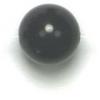 Semi-Precious 8mm Round Black Onyx